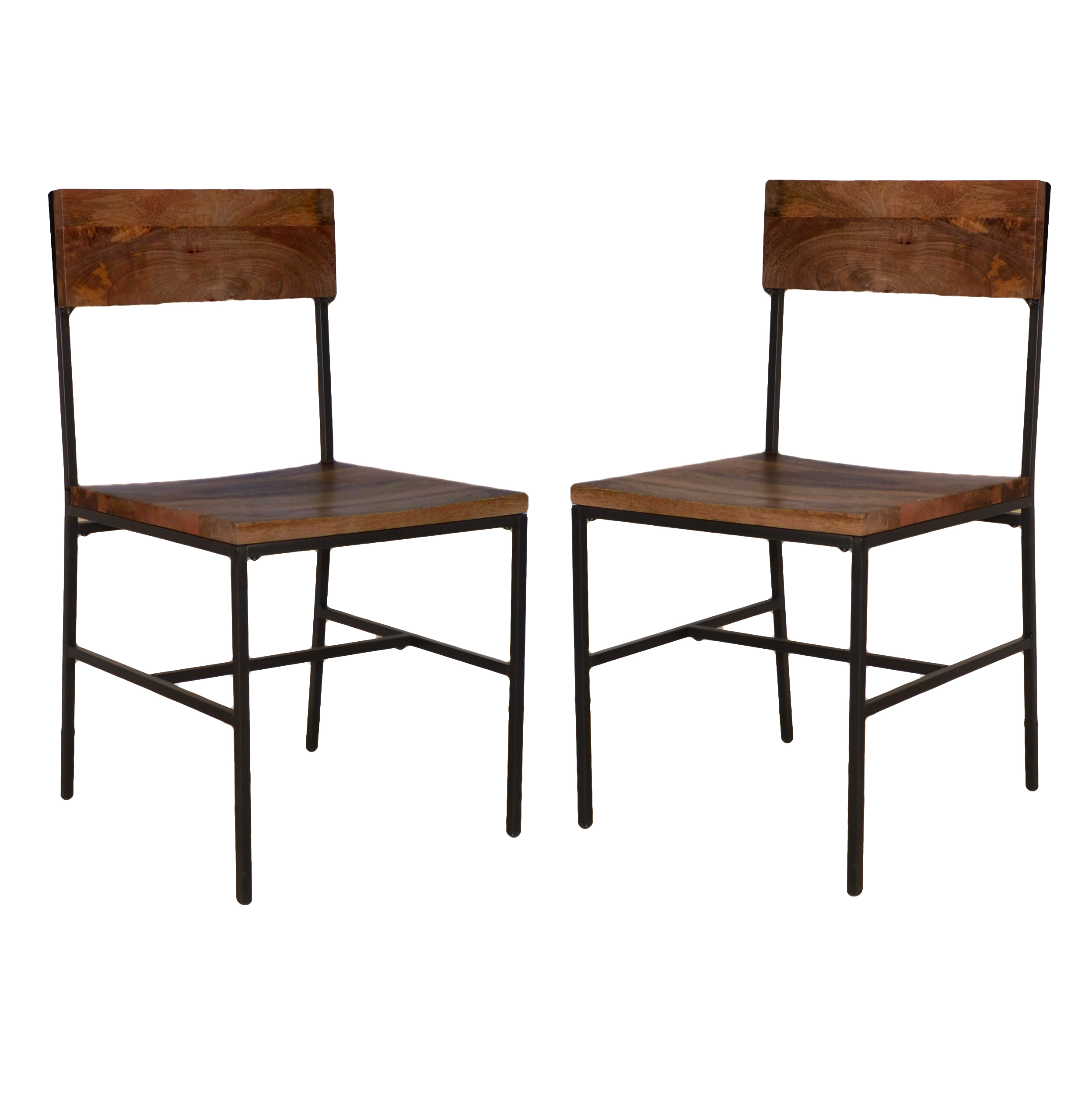 Elmsley Dining Chair Set of 2, Chestnut