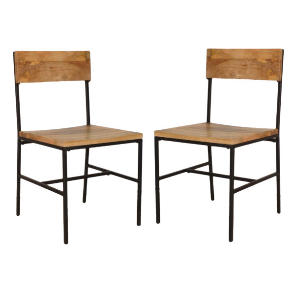 Elmsley Dining Chair Set of 2, Natural