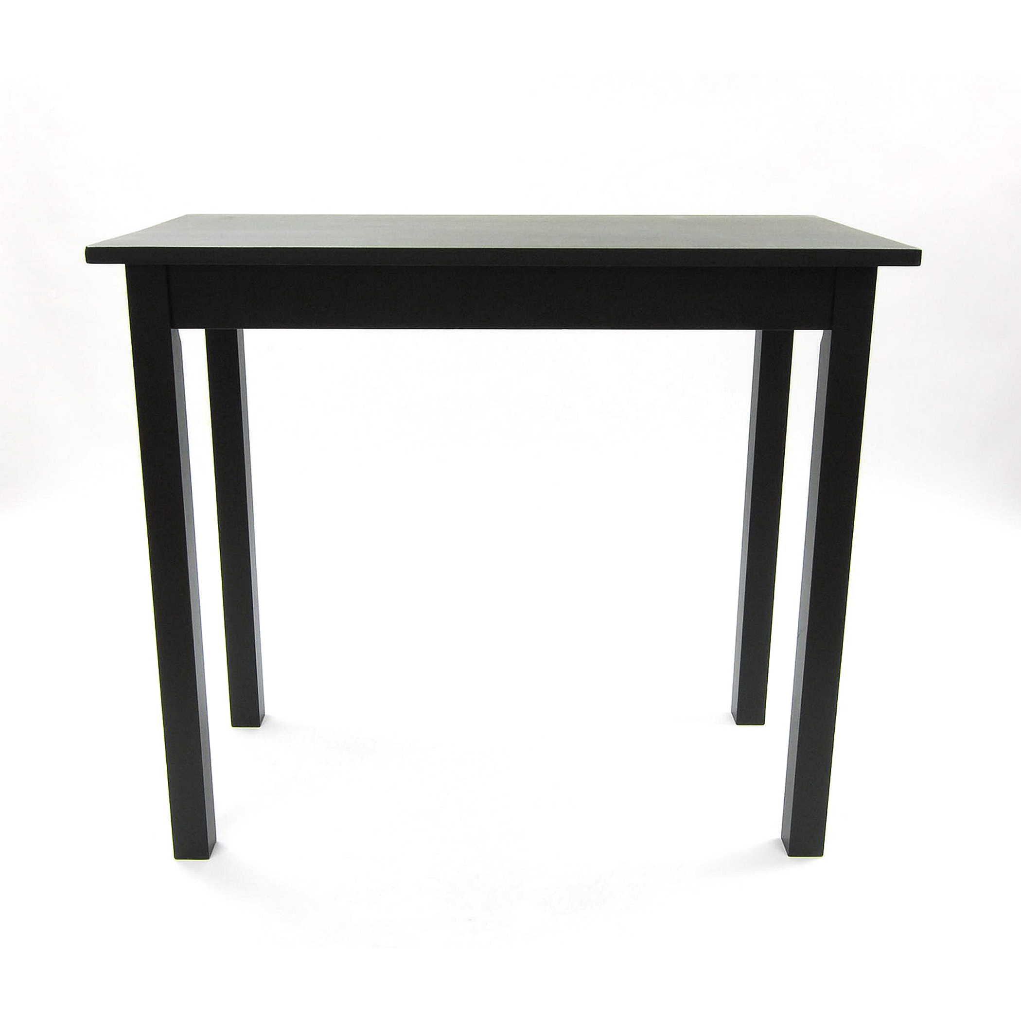 Bradford Bar Table, Antique Black