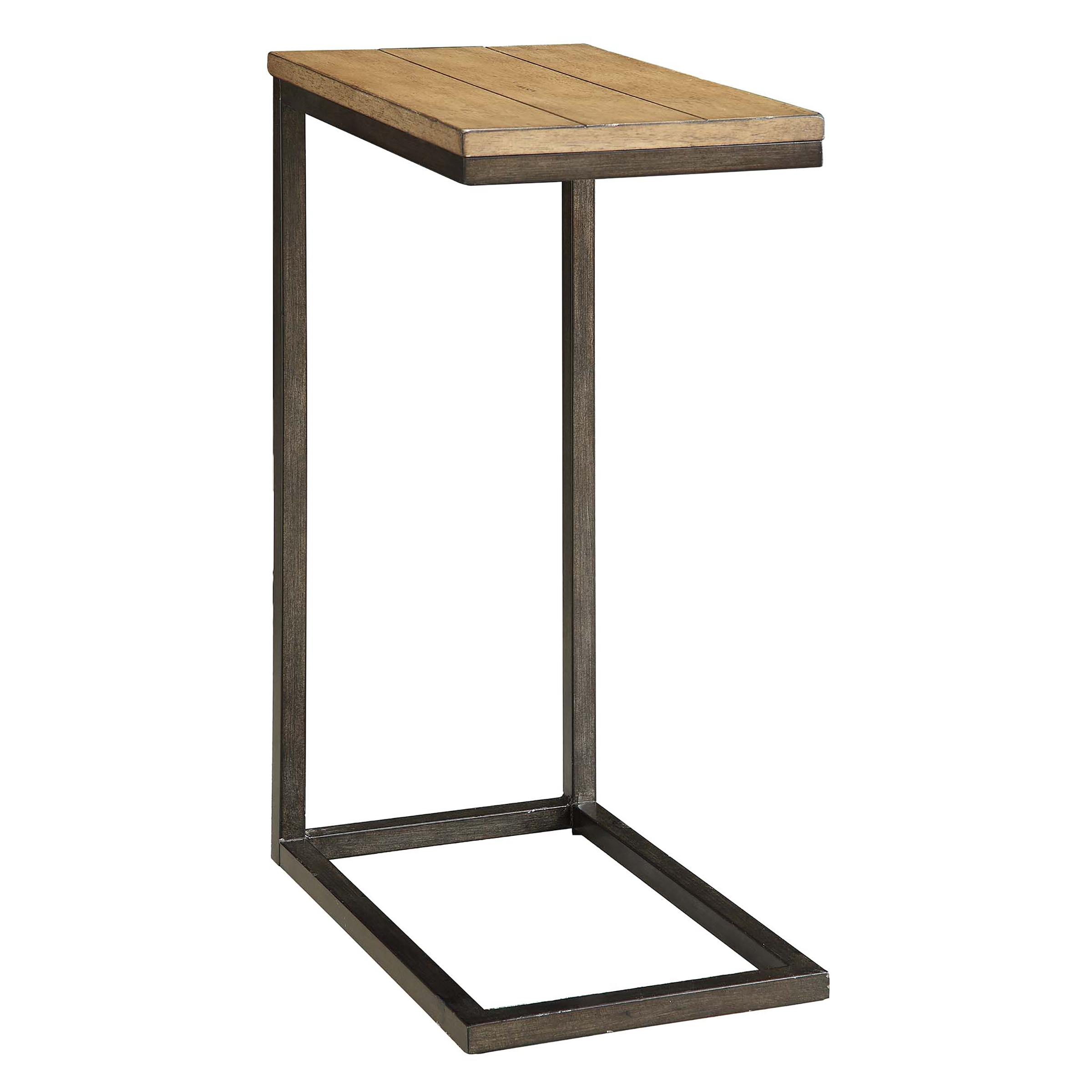 Ansley Computer Tray Table, Harvest Oak/Aged Iron