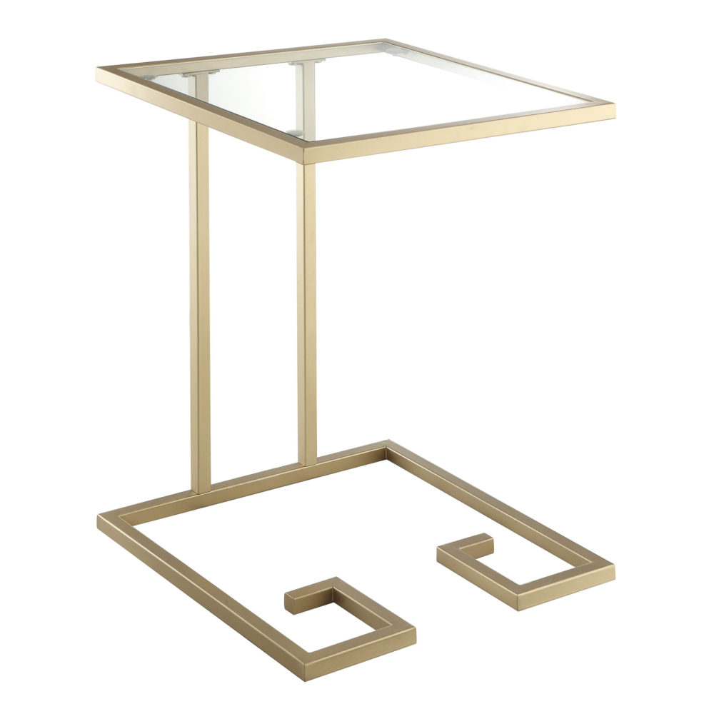 Royce Accent Table, Gold